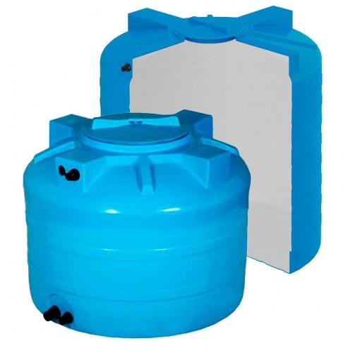бак для воды 500 литров с поплавком горизонтальный